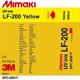Чернила Mimaki LF-200 (SPC-0591Y) UV LED Curable Ink (yellow), 600 мл