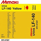 Чернила Mimaki LF-140 (SPC-0728Y, yellow) 600 мл