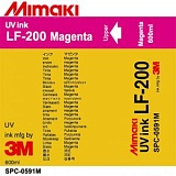 Чернила Mimaki LF-200 (SPC-0591M) UV LED Curable Ink (magenta), 600 мл